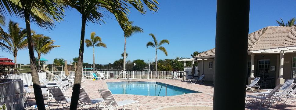HOA Club House Pool and Deck Area