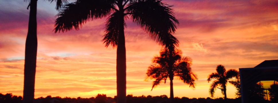 Nice Florida Sunset